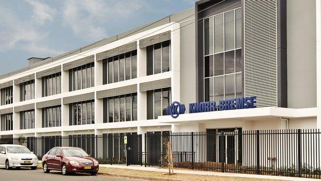 Das neue Knorr-Bremse-Werk in Australien verfügt über knapp 16.000 Quadratmeter Büro- und Produktionsfläche.