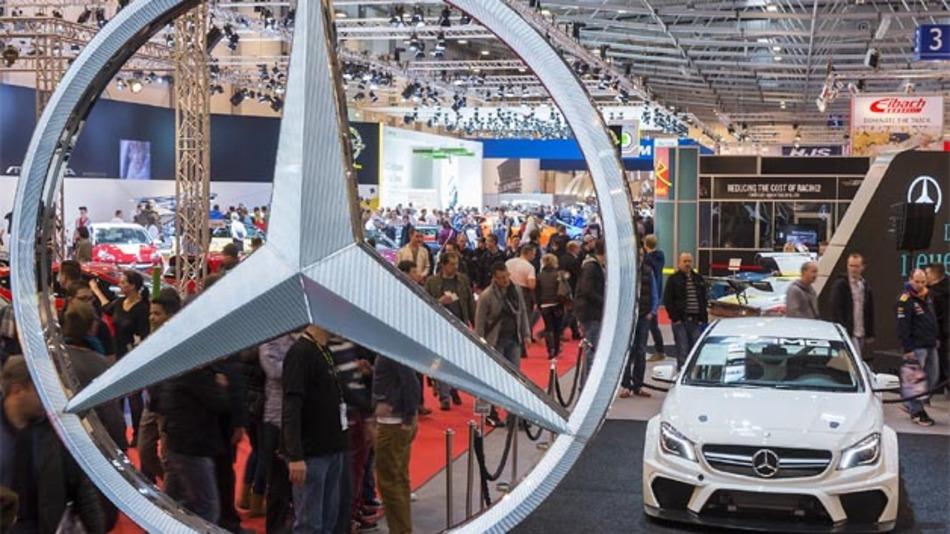 """Mit der """"Mercedes-Fan World"""" wollte Daimleraben wir in diesem Jahr eine ganz besondere Nähe zu den Besuchern schaffen."""
