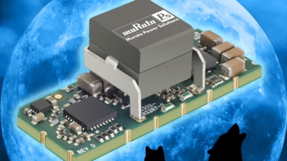 Das 25-A-PoL-Modul »OKLF-T/25-W12N-C« ist mit dem digitalen Reglerbaustein »PV3012« aufgebaut bietet eine sehr schnelle Reaktion auf Änderungen der Eingangsspannung und der Last, hohe Stabilität und eine hohe Leistungsdichte.