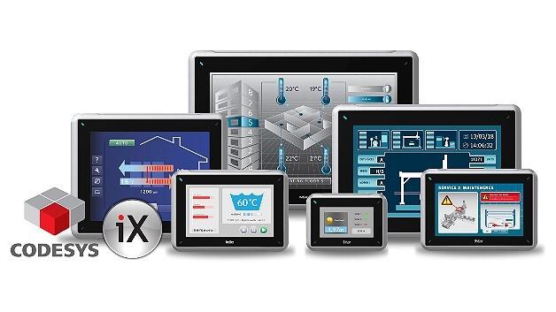 Die HMI-SPS-Panels der Serie »iX SoftControl« kombinieren Beijers HMI-Konzept »iX« mit der Soft-SPS Codesys von 3S.