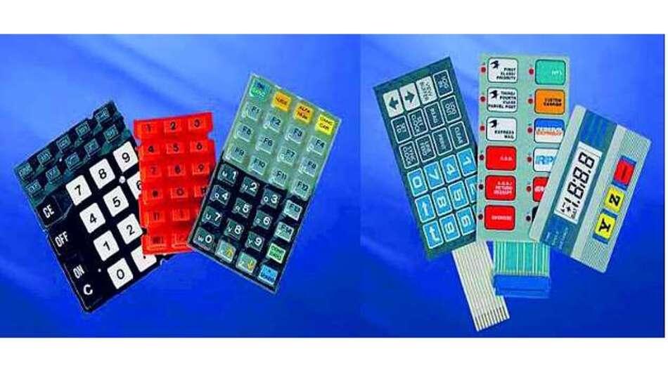 Bild 1: Als Ergänzung zu den Bildschirmen bietet Display Elektronik auch Silikon- und Folientastaturen