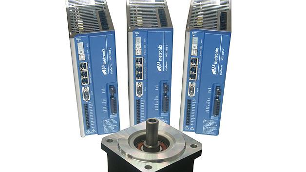 Die Servoregler-Familie »blueServo« von Metronix bietet Echtzeit-Ethernet, integriert STO-Funktionen und unterstützt zahlreiche Encoder-Schnittstellen, darunter die Hiperface-DSL-Schnittstelle.