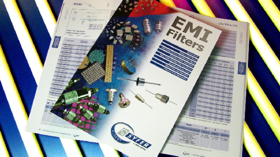Syfer hat einen neuen EMV-Filter-Katalog mit gegenüber vorherigen Ausgaben erweiterten technischen Informationen herausgebracht.