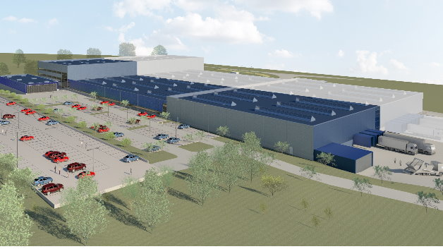 Um rund 10.000 m² soll die Produktion energiesparender Großventilatoren für den europäischen Markt ausgebaut werden und ein Rechenzentrum entstehen.
