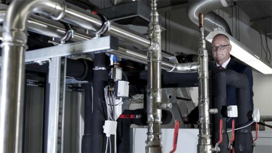 In diesem Labor bei der Siemens-Forschung Corporate Technology werden selbst Total-Zusammenbrüche des Stromnetzes messtechnisch untersucht.