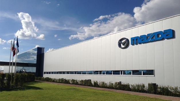 In Mexiko rollte der erste Mazda3 rollte im neuen Werk des Herstellers vom Band.