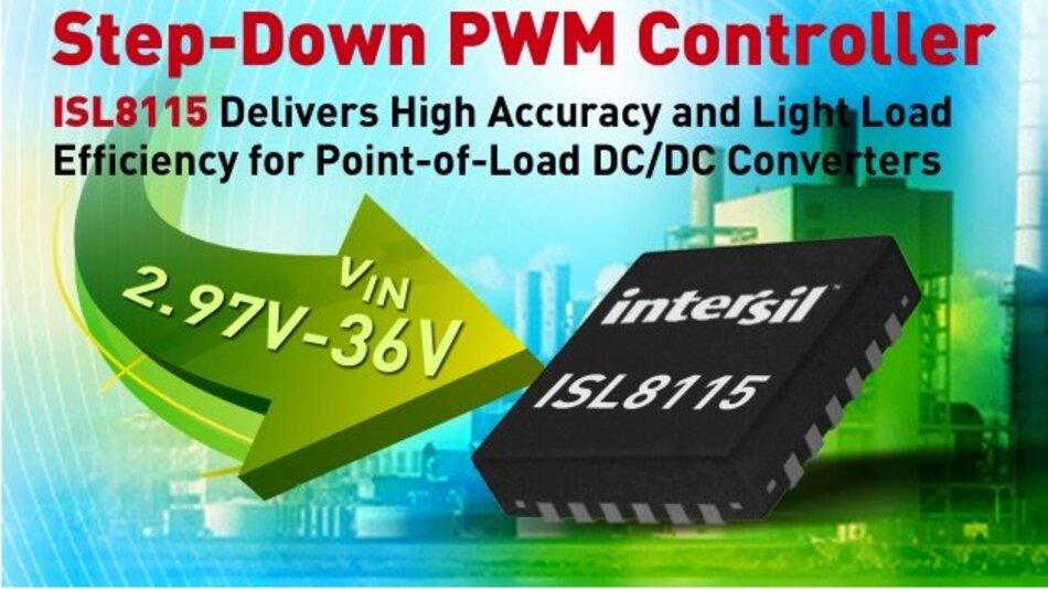 Step-down-PWM-Controller mit weitem Eingangsspannungsbereich