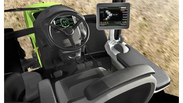 RAFI präsentierte kapazitive 3D-Touch-Bedienung für Landmaschinen