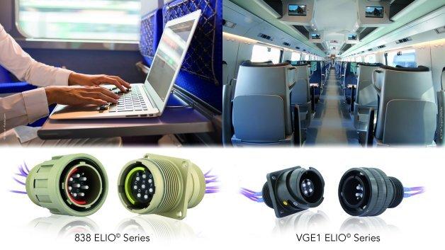 VGE 1 ELIO und 838 ELIO: Glasfaser-Technologie für Onboard-Bahnanwendungen