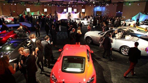 Großer Andrang auf der Detroit Motor Show.