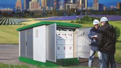 Regelbarer Ortsnetztransformatoren von Schneider Electric