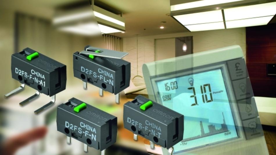 D2FS - ein Ultra-Subminiaturschalter zur Erkennung von Manipulationsversuchen