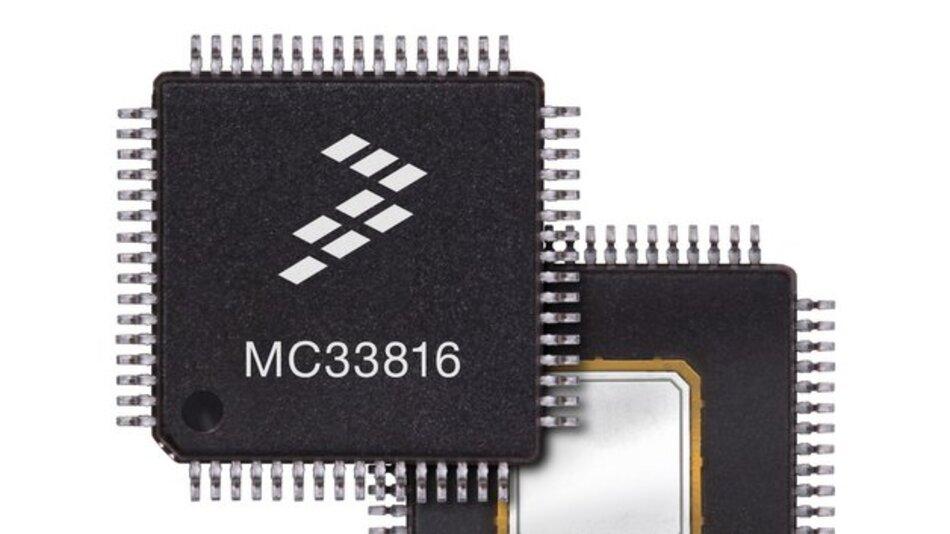 Der Solenoid-Controller MC33816 von Freescale.