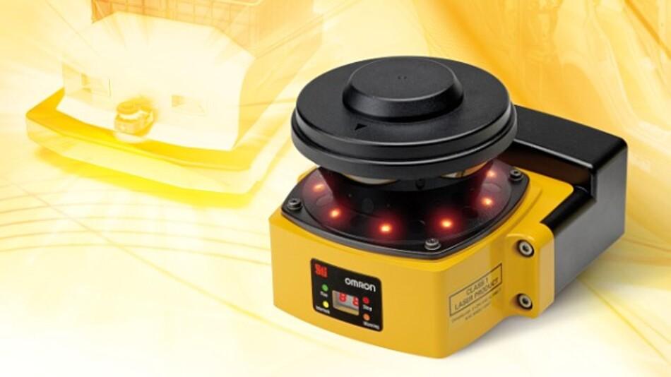 Der Sicherheits-Laserscanner OS32C ist laut Hersteller Omron der kompakteste seiner Leistungsklasse.