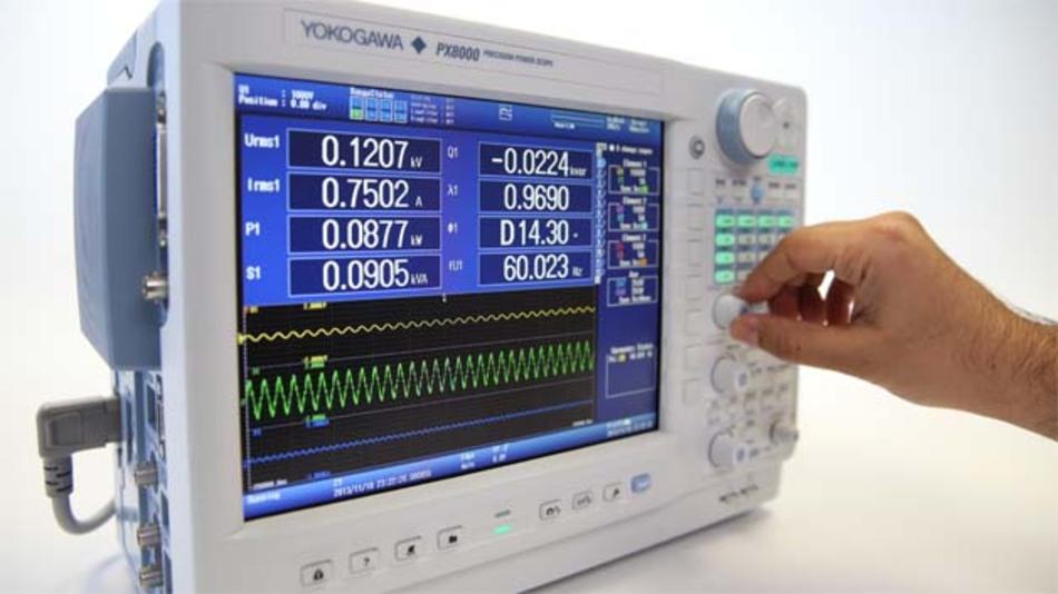 """Das """"Precision Power Scope"""" PXI 8000 ist eine neue Geräteklasse: die Kombination aus Oszilloskop und Präzisions-Leistungs-Analysator."""