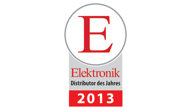 Elektronik Distributor des Jahres 2013