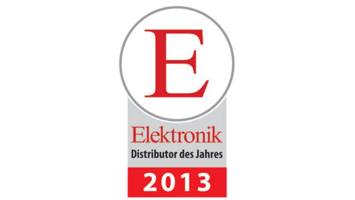 Leserwahl zum Elektronik Distributor des Jahres 2013