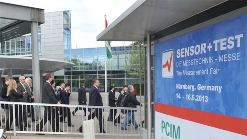 Die Sensor + Test 2014 in Nürnberg (3.-5. Juni) kann derzeit mit einem Aussteller-Plus von rund 10 % rechnen.