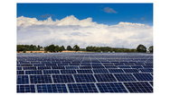 Solaranlage von Conergy in Lovedean, Großbritannien