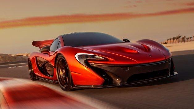 Von 0 auf 100 km/h in 2,8 Sekunden: der Supersportwagen McLaren P1.