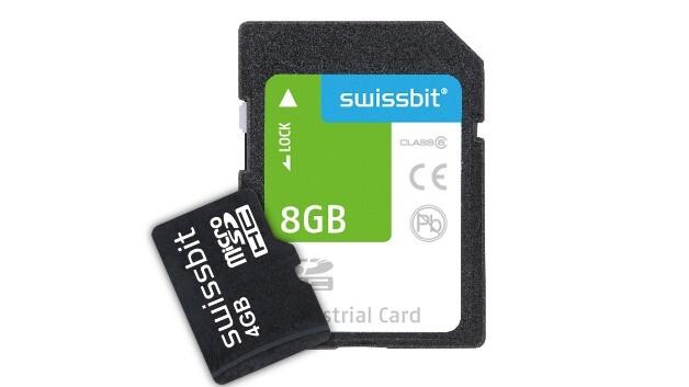 Für einen langen Datenerhalt hat Swissbit die SD- und µSD-Karten der S-40-Familie konzipiert.