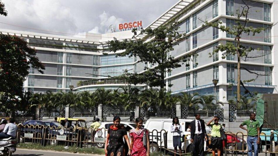 Am Standort Bangalore hat Bosch insgesamt 10.500 Beschäftigte, hauptsächlich in der Dieselfertigung und Softwareentwicklung.