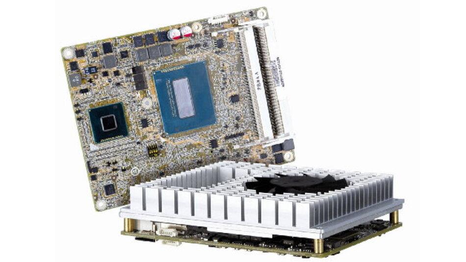 Comp-Mall bietet das COM-Express-Modul »ICE-QM871« mit dem Pin-out-Typ 6 an.
