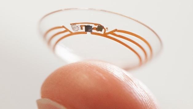 Mit der »Smart Contact Lens« lässt sich der Blutzuckerspiegel über die Tränenflüssigkeit bestimmen.