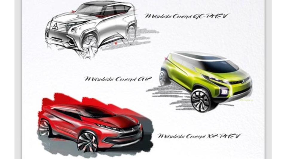 Mitsubishi setzt auf Hybrid.