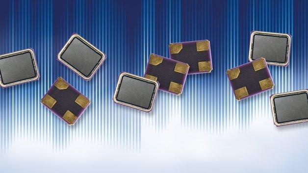 SMD-Schwingquarze in den Abmessungen 2 x 1,6 mm sowie 1,6 x 1,2 mm