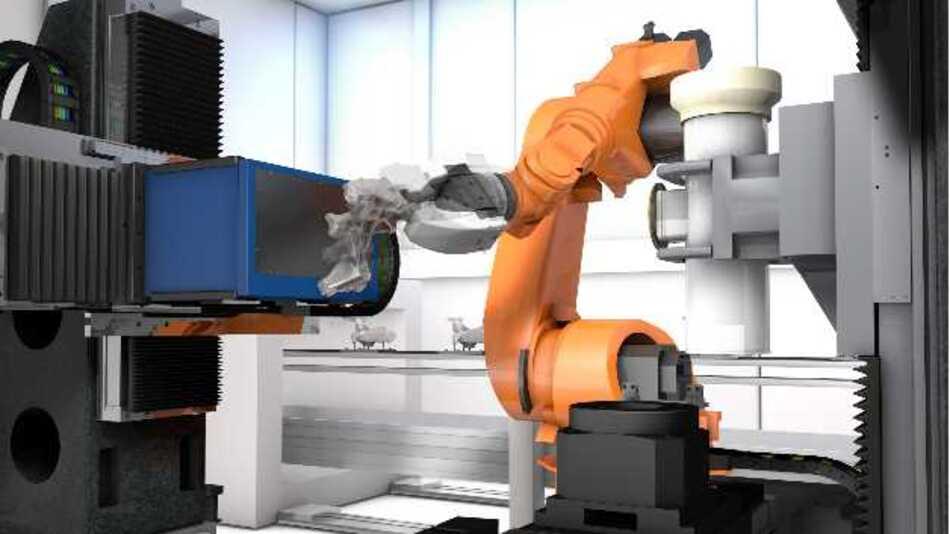 Die neue Röntgen-Technologie DRAGONFLY reduziert die Prüfzeit von Gussteilen um die Hälfte