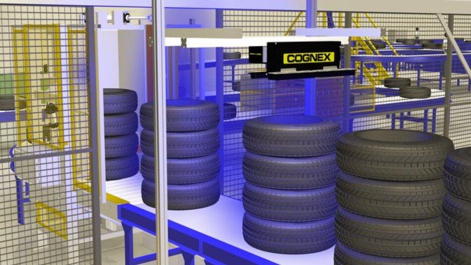 Cognex bietet ID-Lösungen für Reifenhersteller.