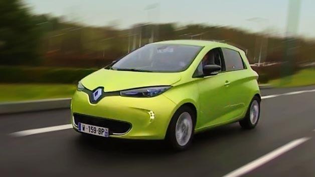 Autonom fahrendes Auto auf Basis des Renault Zoe: der Next Two.