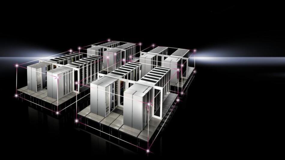 Ab sofort ist das Effizienzpaket PUE für die standardisierte Rechenzentrumslösung RiMatrix S verfügbar.
