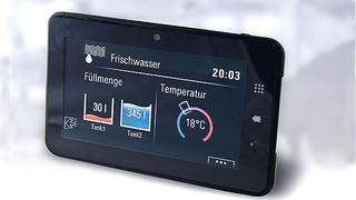 Die Tablets von TES Electronic Solutions können kundenspezifischen Anforderungen angepasst werden