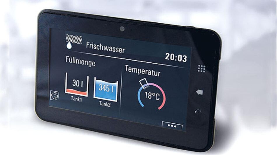 Die Tablets von TES Electronic Solutions können kundenspezifischen Anforderungen angepasst werden.