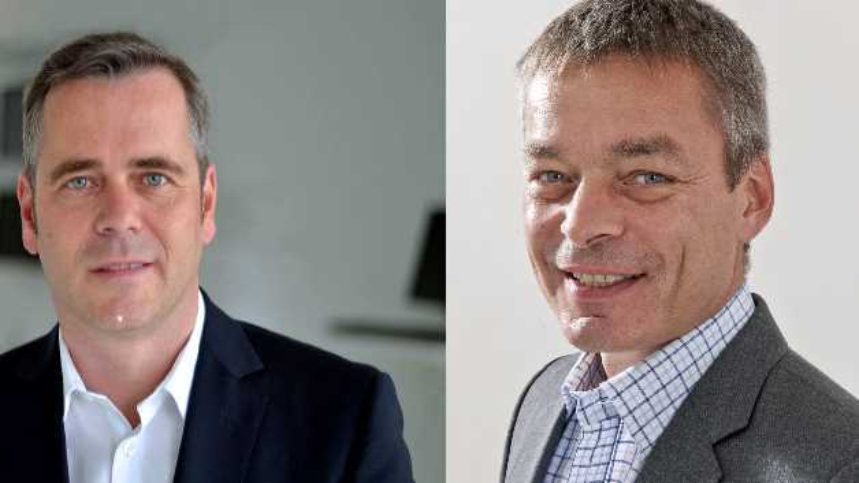 Prof. Dr. rer. nat. Martin Schell (r.) und Prof. Dr.-Ing. Thomas Wiegand (l.) bilden seit Anfang des Jahres die Doppelspitze am Fraunhofer Heinrich-Hertz-Institut.