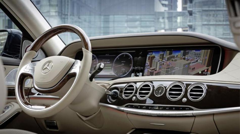 MOST150 kommt in der neuen Mercedes-Benz S-Klasse zum Einsatz.