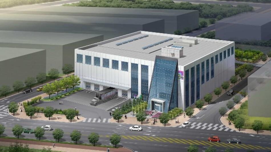 Bis Oktober 2014 will Rittal sein neues Verwaltungs-und Logistikcenter in Südkorea fertiggestellt haben.