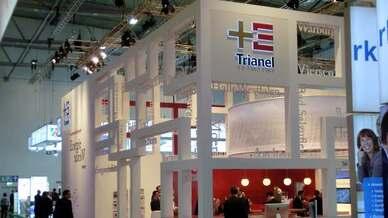 Auf der E-world 2014, Stand Trianel