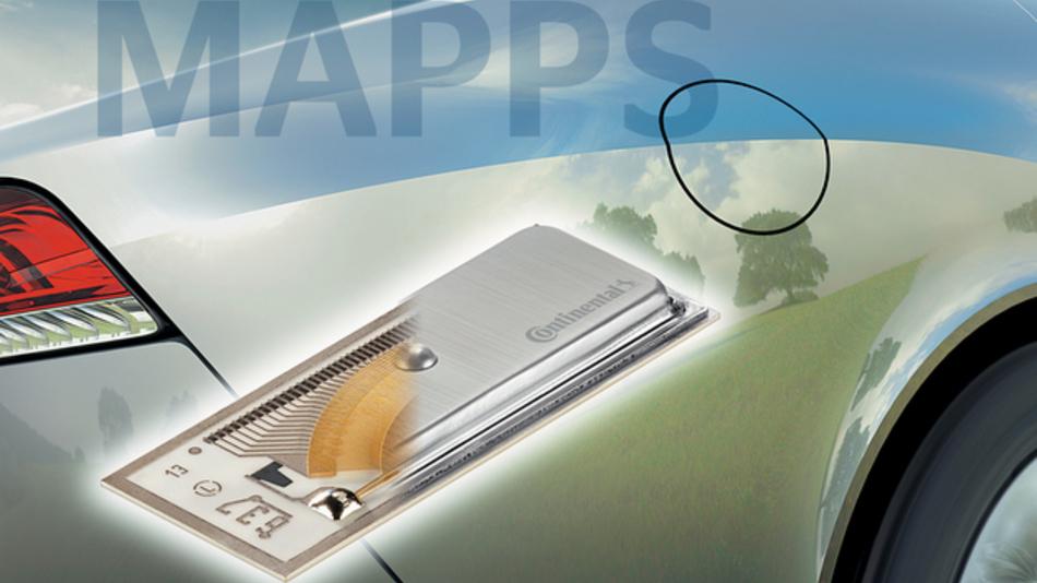 Der MAPPS von Continental kommt vor allem in der Premiumklasse zum Einsatz.