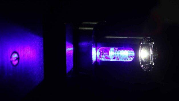 Laserlichtlösung von Osram.