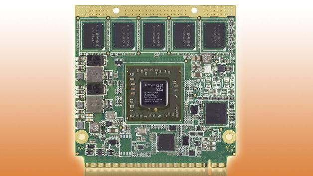 Die Durchschnittliche Leistungsaufnahme des Qseven-Moduls »conga-QG« liegt bei 3 Watt.