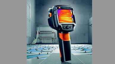 Mit der neuen testo 870 bringt die Testo AG jetzt ein Werkzeug auf den Markt, das robuste Verarbeitung und einfachste Bedienung mit modernster Technik vereint und sich zudem schon nach wenigen Einsätzen rechnet.