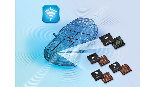 Bild 1. Radarmodule sind ein wesentlicher Bestandteil moderner Assistenzsysteme.