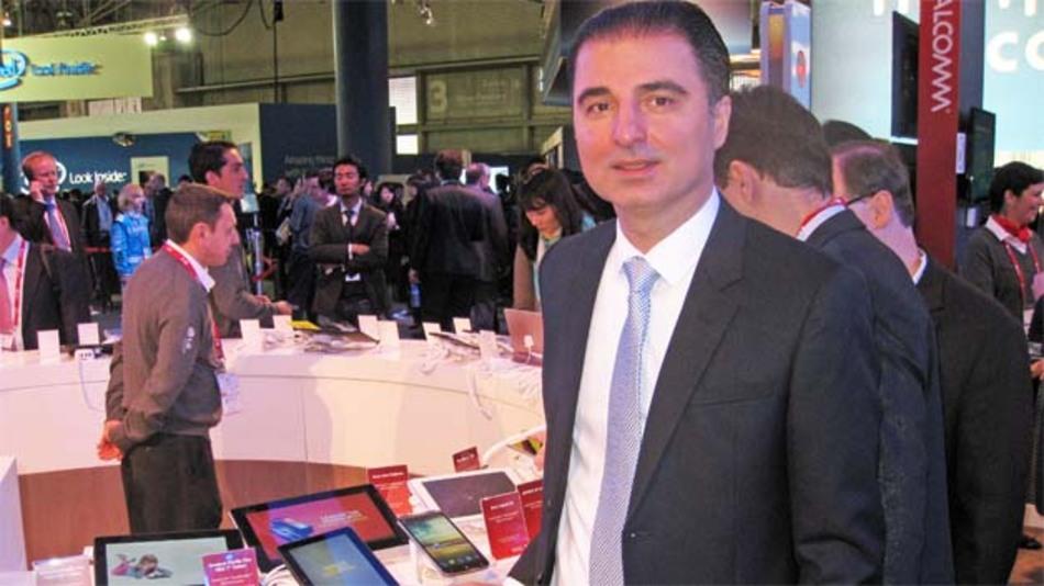 Hamid-Reza Nazeman, Deutschland-Manager bei Qualcomm Technologies, erwartet für Ende 2014/Anfang 2015 die ersten Geräte mit dem 64-Bit-Prozessor Snapdragon 615 im Markt.