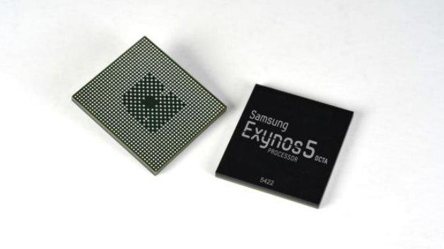 Samsungs neuer Octa-Core-Mobilprozessor Exynos-5422.