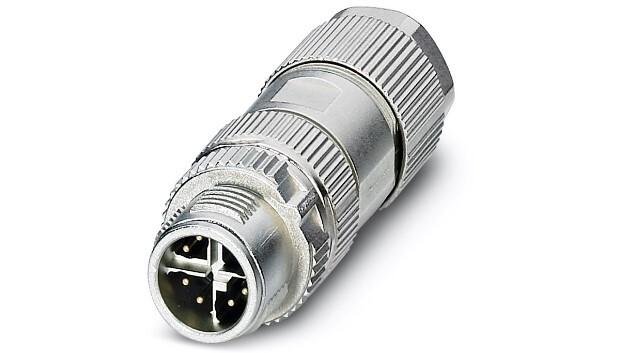 »High-Speed«-Applikationen im Industrieumfeld erfordern achtadrige Datenleitungen. Der achtpolige M12-Steckverbinder  mit X-Codierung erfüllt die Übertragungsqualität nach Cat6A und ist damit auch über die nächsten Jahre zukunftsfähig.