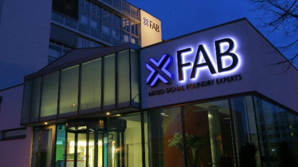 Die Firmenzentrale der Foundry X-Fab in Erfurt.