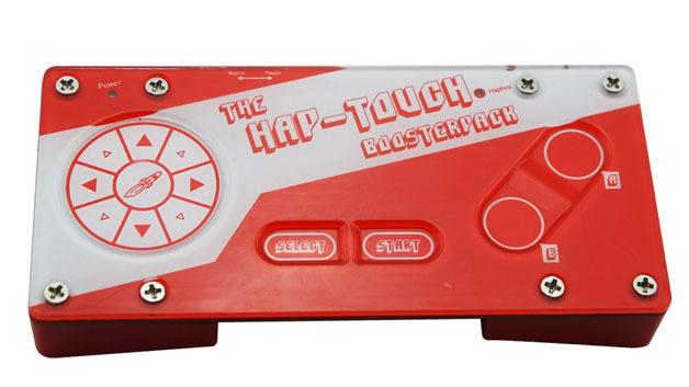 """Mit dem """"HapTouch BoosterPack"""" lassen sich die verschiedenen Haptik-Effekte ausprobieren."""